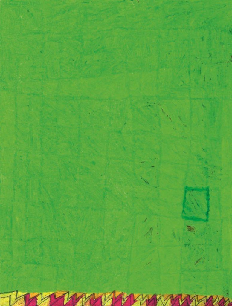 Chantal Gontarczyk, sans titre, 2014, pastel à l'huile sur papier, 73 x 55 cm