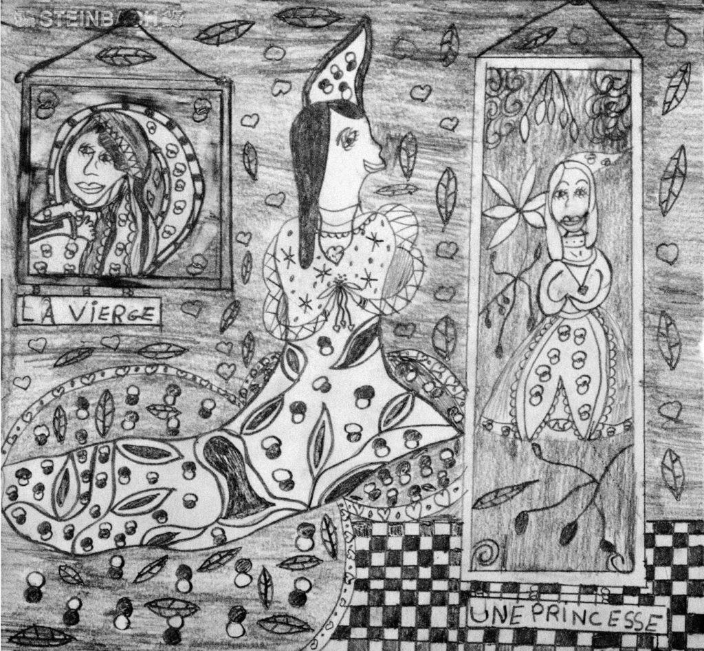 Christelle Hawkaluk, sans titre, 2006, crayon gris sur papier, 34 x 36,5 cm