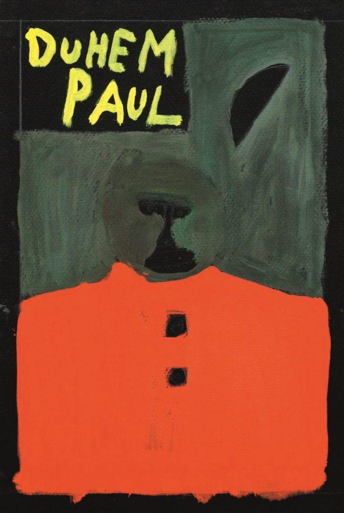 Paul Duhem, sans titre, 1996, pastel gras et peinture à l'huile sur papier, 35 x 25 cm