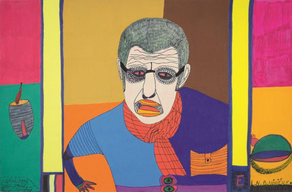 Georges Duesberg (Jojo Aimé), sans titre, 1994, gouache sur papier, 36,5 x 55 cm