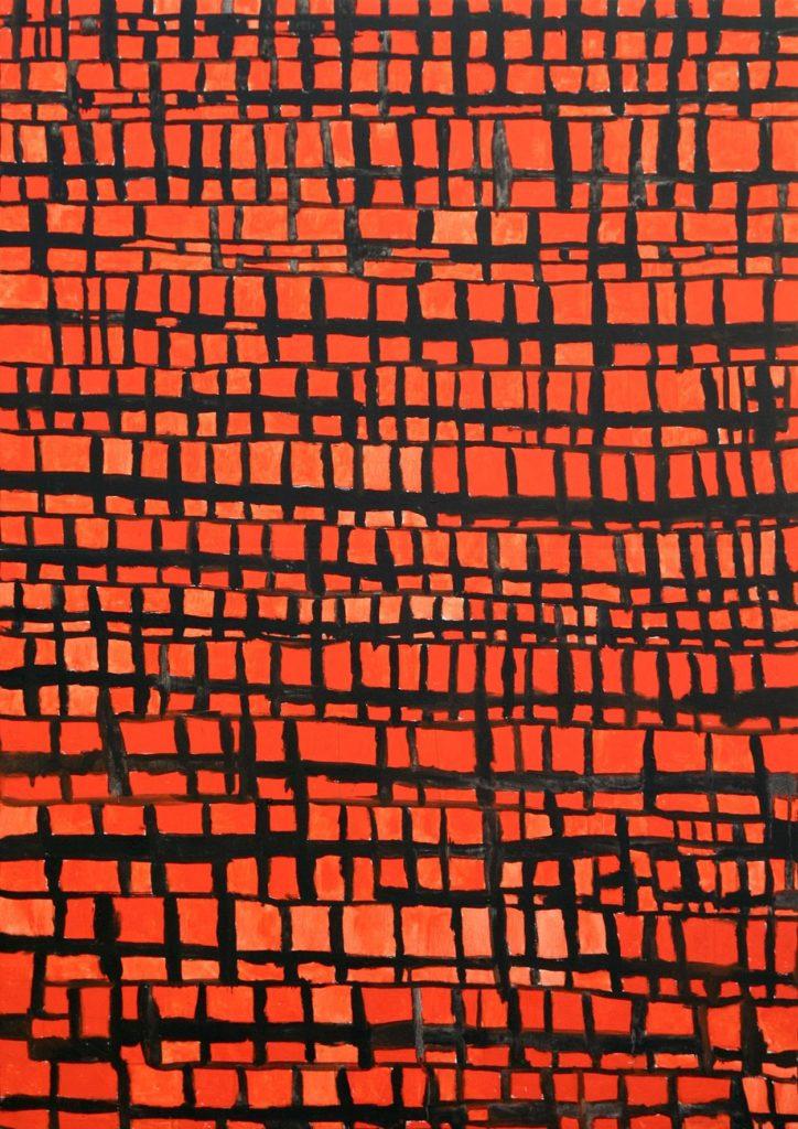 Louis Van Baelens, sans titre, 2008, peinture à l'huile sur toile, 100 x 70cm