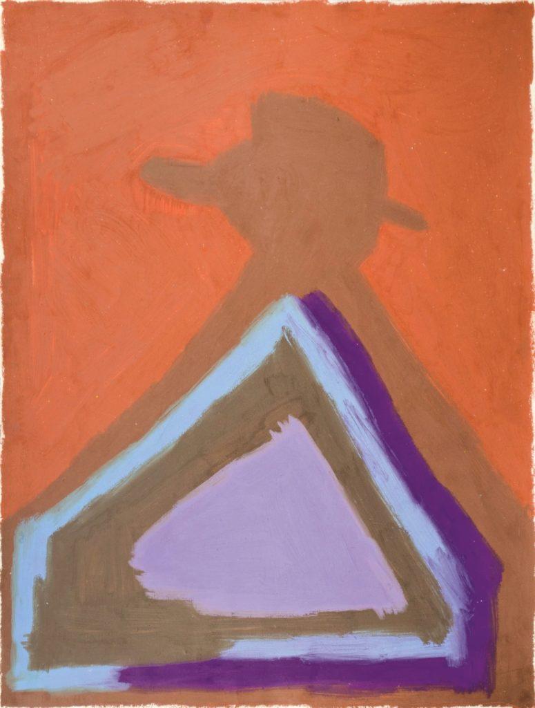 François Defontaine, Sans titre, 2014, pastel gras sur papier, 73 x 55 cm