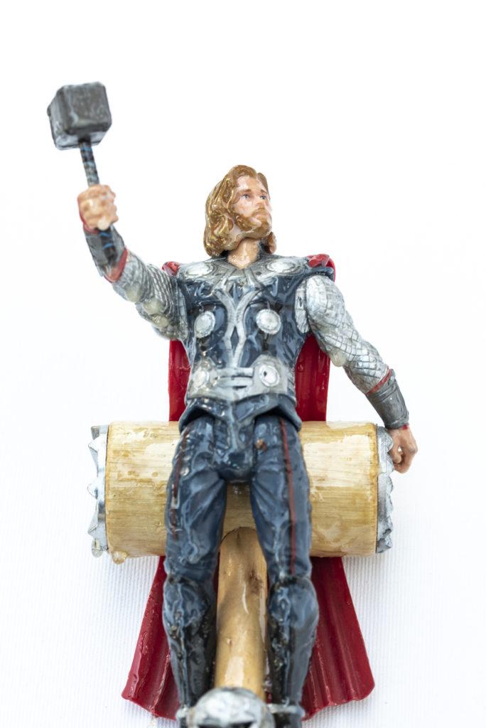 Abel, croix, détail