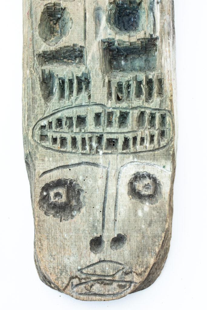 Dominique Bottemanne, sculpture, bas-relief haut. 203cm x 23cm, détail 3