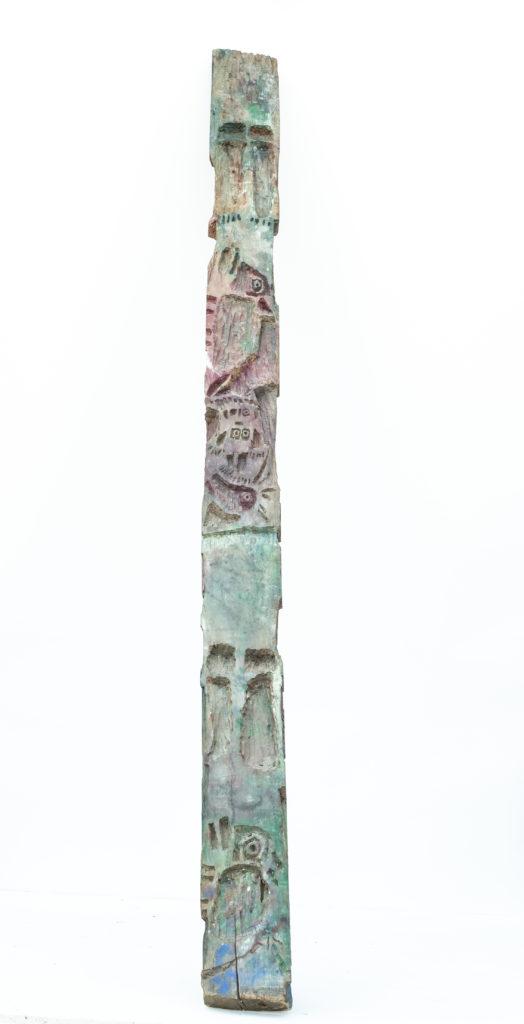 Dominique Bottemanne, sculpture recto haut. 303cm x 20cm